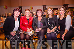 Enjoying the Fashion Show in the Ring of Kerry Hotel in aid of the Ronald McDonald House on Friday evening were l-r; Evelyn Goggin, Teresa Cronin, Monica O'Shea, Rose Dillon & Janet O'Neill.