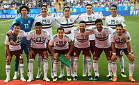 (180623) -- ROSTOV-ON-DON, June 23, 2018 -- Players of Mexico pose for a group photo prior to the 2018 FIFA World Cup WM Weltmeisterschaft Fussball Group F match between South Korea and Mexico in Rostov-on-Don, Russia, June 23, 2018. ) (SP)RUSSIA-ROSTOV-ON-DON-2018 WORLD CUP-GROUP F-SOUTH KOREA VS MEXICO LixGa PUBLICATIONxNOTxINxCHN  <br /> ROSTOV-ON-DON 23-06-2018 Football FIFA World Cup Russia  2018 <br /> South Korea - Mexico / Corea del Sud - Messico<br /> Foto Xinhua/Imago/Insidefoto