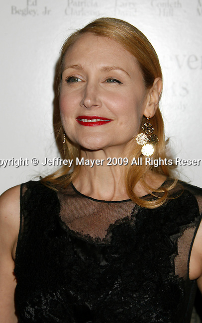 "WEST HOLLYWOOD, CA. - June 08: Patricia Clarkson arrives at the Los Angeles premiere of ""Whatever Works"" at the Pacific Design Center on June 8, 2009 in West Hollywood, California."