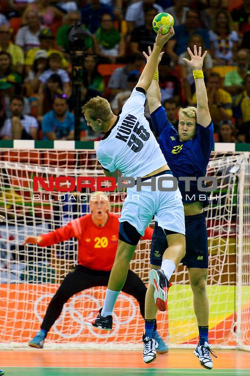 Bra Olympia 2016 Rio Handball Schweden Vs Deutschland Nordphoto