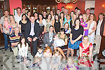 RECEPTION: Richard and Linda Cleary, Curragh, Firies held a reception for family and friends in the Imperial Hotel, Tralee on Sunday after the christening of their baby daughter Lauren in Kiltala Church, Castlemaine..