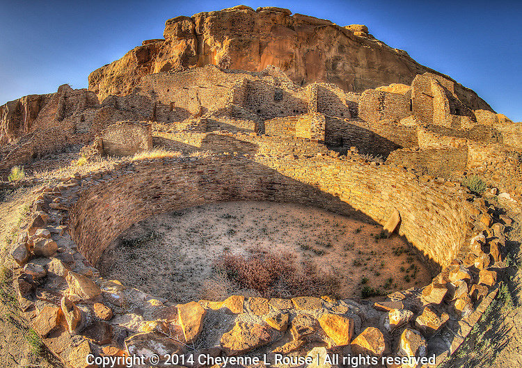 Chaco Kiva - New Mexico - Chaco Canyon National Historic Park