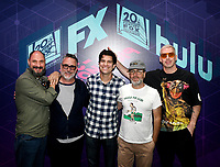 FOX FAN FAIR AT SAN DIEGO COMIC-CON© 2019: L-R: BOB'S BURGERS Creator Loren Bouchard, Cast Members Larry Murphy, Dan Mintz, H. Jon Benjamin and John Roberts during the BOB'S BURGERS booth signing on Friday, July 19 at the FOX FAN FAIR AT SAN DIEGO COMIC-CON© 2019. CR: Alan Hess/FOX © 2019 FOX MEDIA LLC