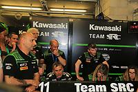 MECHANIC AMBIANCE STAND END OF RACE #11 TEAM SRC KAWASAKI FRANCE (FRA) KAWASAKI ZX 10R FORMULA EWC