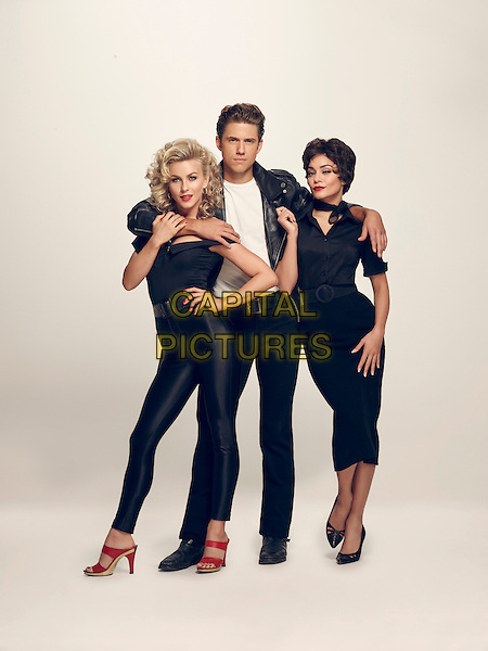 Grease Live! (2016)<br /> Vanessa Hudgens, Julianne Hough &amp; Aaron Tveit<br /> *Filmstill - Editorial Use Only*<br /> CAP/KFS<br /> Image supplied by Capital Pictures