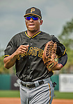 22 March 2015: Pittsburgh Pirates outfielder Gorkys Hernandez in Spring Training action against the Houston Astros at Osceola County Stadium in Kissimmee, Florida. The Astros defeated the Pirates 14-2 in Grapefruit League play. Mandatory Credit: Ed Wolfstein Photo *** RAW (NEF) Image File Available ***