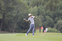 Thorbjorn Olesen (DEN) on the 2nd fairway  during the 1st round at the WGC HSBC Champions 2018, Sheshan Golf Club, Shanghai, China. 25/10/2018.<br /> Picture Fran Caffrey / Golffile.ie<br /> <br /> All photo usage must carry mandatory copyright credit (&copy; Golffile | Fran Caffrey)