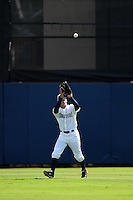 Charlotte Stone Crabs outfielder Braxton Lee (30) catches a fly ball during a game against the Daytona Tortugas on April 14, 2015 at Charlotte Sports Park in Port Charlotte, Florida.  Charlotte defeated Daytona 2-0.  (Mike Janes/Four Seam Images)