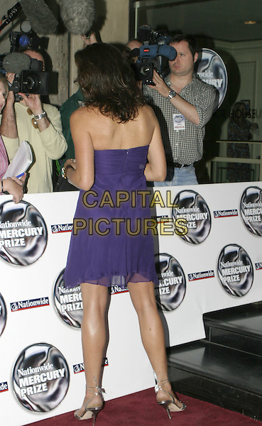 MINNIE DRIVER.Panasonic Mercury Music Prize.Grosvenor House, Park Lane, London W1.September 7th, 2004.full length, back, behind, rear, signing autographs, fans.www.capitalpictures.com.sales@capitalpictures.com.© Capital Pictures.