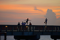 Early this morning at Deerfield Beach Pier, August 20, 2012.