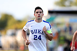BROWNS SUMMIT, NC - SEPTEMBER 16: Duke's Brian White. The University of North Carolina Tar Heels hosted the Duke University Blue Devils on September 16, 2017 at Macpherson Stadium in Browns Summit, NC in a Division I college soccer game. UNC won the game 2-1.
