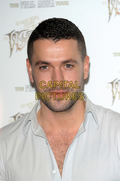 LONDON, ENGLAND - FEBRUARY 28: Shayne Ward attends a media call for Jeff Wayne's musical version of 'The War of The Worlds' The Final Arena Tour! at The Hospital Club on February 28th, 2014 in London, England.<br /> CAP/CJ<br /> &copy;Chris Joseph/Capital Pictures