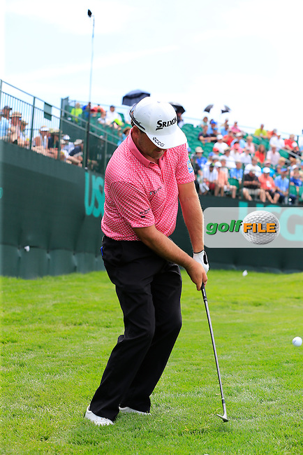 Graeme McDowell (NIR) at the 10th green during Wednesday's Practice Day of the 2016 U.S. Open Championship held at Oakmont Country Club, Oakmont, Pittsburgh, Pennsylvania, United States of America. 15th June 2016.<br /> Picture: Eoin Clarke | Golffile<br /> <br /> <br /> All photos usage must carry mandatory copyright credit (&copy; Golffile | Eoin Clarke)