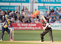Tom Abell of Somerset CCC about to be stumped during Essex Eagles vs Somerset, Vitality Blast T20 Cricket at The Cloudfm County Ground on 7th August 2019