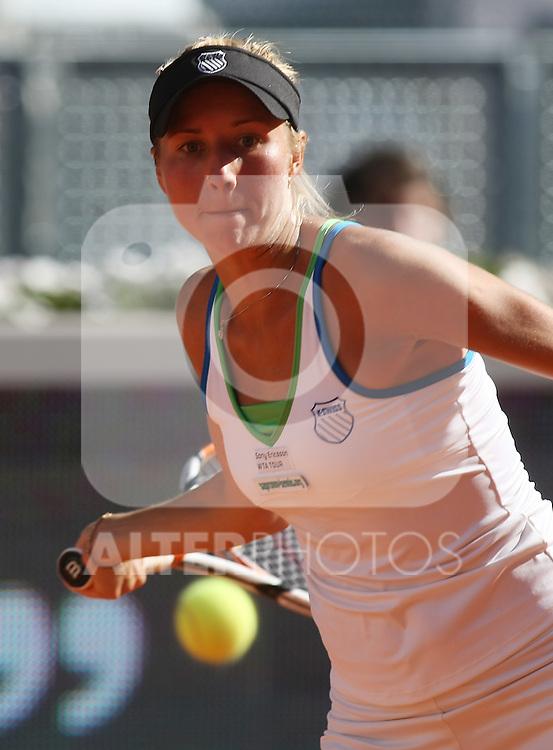 Ukraine's Alona Bondarenko during his Madrid Open quarter final match.May 15 2009.(ALTERPHOTOS/Acero).