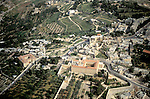 Israel, Jerusalem, Pater Noster Church and the Ascension Chapel on the Mount of Olives