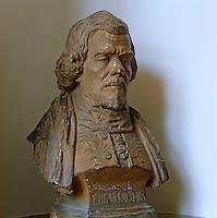 A portrait bust of Delacroix in later life which can be found in his former atelier, now a museum devoted to his life and work