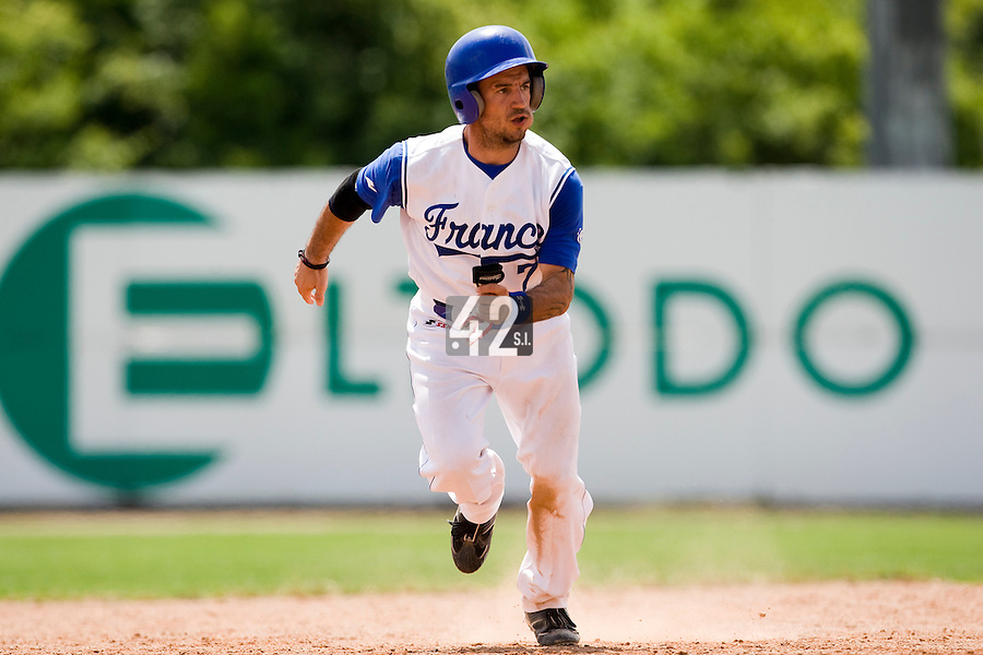 BASEBALL - GREEN ROLLER PARK - PRAGUE (CZECH REPUBLIC) - 25/06/2008 - PHOTO: CHRISTOPHE ELISE.FREDERIC ROUGE (TEAM FRANCE)
