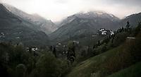 Mountains in Bergamo province