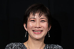 """Newspaper reporter Isoko Mochizuki attends a press conference of film """"i-Documentary of the Journalist"""" during the 32nd Tokyo International Film Festival in Tokyo, Japan on November 4, 2019. (Photo by Motoo Naka/AFLO)"""