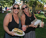 Shanelle Dolan and Debbie LaMonica during the Feed the Camel food truck night at the McKinley Arts Center in Reno on Wednesday, June 28, 2017.