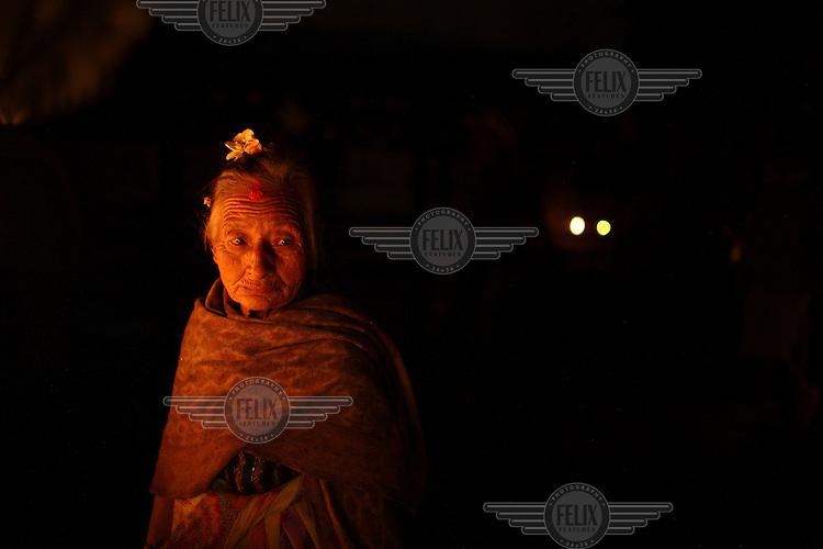 Worshipers gather at Swayambhunath temple to celebrate Vesak or Buddha Purnima - informally called Buddha's Birthday, it actually encompasses the birth, enlightenment (Nirvana), and passing (Parinirvana) of Gautama Buddha.