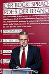 "BRUSSELS - BELGIUM - 24 March 2015 -- BOGK - German Association of the Fruit, Vegetable and Potato Processing Industry - Award ceremony ""Ambassador of Good Taste"". -- Werner KOCH, Managing Director BOGK Bonn and Brussels offices.  -- Photo: Juha ROININEN / EUP-IMAGES"