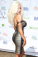 LOS ANGELES, CA, USA - SEPTEMBER 21: Courtney Stodden arrives at The LA Feline Film Festival held at the Memorial Coliseum on September 21, 2014 in Los Angeles, California, United States. (Photo by Xavier Collin/Celebrity Monitor)
