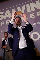Matteo Salvini durante il suo tour elettorale a Caserta