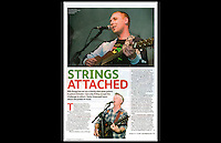 Strings Attached - The Big Issue: 19-25 October 2009, Page 15 - Jail Guitar Doors - The Proud Gallery, Camden - 1st October 2009