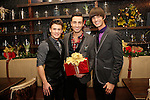 LOS ANGELES - DEC11: Blake McIver, Scott Nevins, Emerson Collins at Scott Nevins Presents SPARKLE: An All-Star Holiday Concert to benefit The Actors Fund at Rockwell Table & Stage on December 11, 2014 in Los Angeles, California