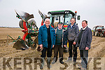 ARDFERT PLOUGHING MATCH on Dominic O Flaherty, Banna Land on Sunday were l-r  Sean Halloran, Jimmy Lawlor, Tommy McCarthy and Brendan Blackwell