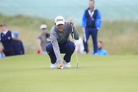Bernd Wiesberger (AUT) on the 15th green during Saturday's Round 3 of the Dubai Duty Free Irish Open 2019, held at Lahinch Golf Club, Lahinch, Ireland. 6th July 2019.<br /> Picture: Eoin Clarke | Golffile<br /> <br /> <br /> All photos usage must carry mandatory copyright credit (© Golffile | Eoin Clarke)