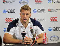 Twickenham, England. Chris Robshaw of England during the England training and Media session during the England captains run for the QBE Internationals England v Australia at Twickenham Stadium on 17 November. Twickenham, England, November 16. 2012.