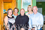 Carmel Lannigan, Rita Lenihanl Br Sean, Kathriona Breen and Tom griffin  at the Franciscian Youth club reunion who gathered in the Dromhall Hotel on Friday night