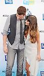 SANTA MONICA, CA - AUGUST 19: Cory Monteith and Lea Michele  arrive at the 2012 Do Something Awards at Barker Hangar on August 19, 2012 in Santa Monica, California. /NortePhoto.com....**CREDITO*OBLIGATORIO** ..*No*Venta*A*Terceros*..*No*Sale*So*third*..*** No Se Permite Hacer Archivo**
