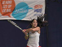Hilversum, Netherlands, December 4, 2016, Winter Youth Circuit Masters, Lian Tran (NED)<br /> Photo: Tennisimages/Henk Koster