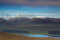 Ben Alder and Beinn Bheoil from A'Mharconaich, Monadhliath, Drumochter Pass, Cairngorm National Park, Highlands<br /> <br /> Copyright www.scottishhorizons.co.uk/Keith Fergus 2011 All Rights Reserved