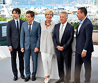 Noah Baumbach, Ben Stiller, Emma Thompson, Dustin Hoffman &amp; Adam Sandler at the photocall for &quot;The Meyerowitz Stories&quot; at the 70th Festival de Cannes, Cannes, France. 21 May 2017<br /> Picture: Paul Smith/Featureflash/SilverHub 0208 004 5359 sales@silverhubmedia.com