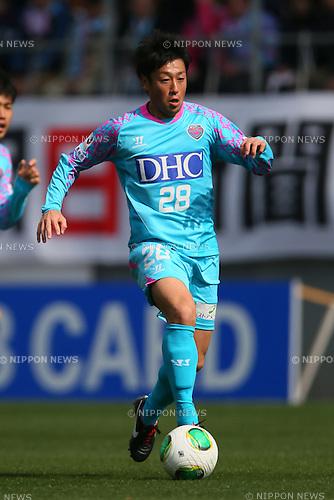 Yoshiki Takahashi (Sagan), .MARCH 2, 2013 - Football /Soccer : .2013 J.LEAGUE Division 1 .between Sagan Tosu 1-1 Kashima Antlers .at Best Amenity Stadium, Saga, Japan. .(Photo by YUTAKA/AFLO SPORT)