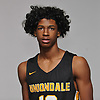 Justin Evelyn of Uniondale boys basketball poses for a portrait during Newsday's 2018-19 season preview photo shoot at company headquarters in Melville on Monday, Dec. 3, 2018.