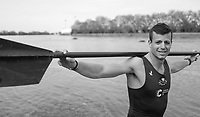 Putney, London,  Tideway Week, Championship Course. River Thames,  Oxford University Boat Club, President, Michael DI SANTO. <br /> Thursday  30/03/2017<br /> <br /> [Mandatory Credit; Credit: Peter SPURRIER/Intersport Images.com]