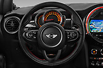 Car pictures of steering wheel view of a 2017 Mini MINI John Cooper Works 3 Door Hatchback