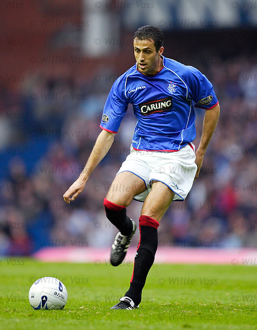 Brahim Hemdani, Rangers.stock season 2005-2006.pic willie vass