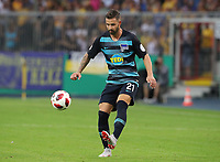 Marvin Plattenhardt      <br /> / Sport / Football / DFB Pokal 1.round 3. Bundesliga Bundesliga /  2018/2019 / 20.08.2018 / BTSV Eintracht Braunschweig vs. Hertha BSC Berlin / DFL regulations prohibit any use of photographs as image sequences and/or quasi-video. /<br />       <br />    <br />  *** Local Caption *** &copy; pixathlon<br /> Contact: +49-40-22 63 02 60 , info@pixathlon.de