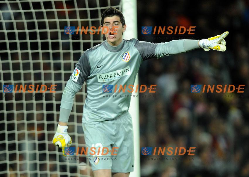 Thibaut Courtois ( Atletico ) .Football Calcio 2012/2013.La Liga Spagna.Foto Panoramic / Insidefoto .ITALY ONLY