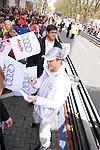 Motorsport: DTM Vorstellung  2008 Duesseldorf<br /> <br /> Ralf Schumacher gab auch auf der Audifahne seine Autogramme bei der Praesentation in Duesseldorf .<br /> <br /> Foto © nph (nordphoto)