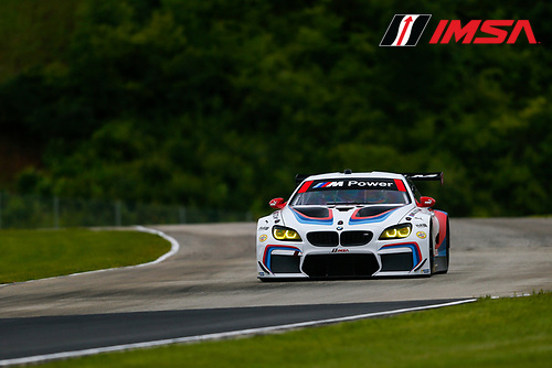 IMSA WeatherTech SportsCar Championship<br /> Continental Tire Road Race Showcase<br /> Road America, Elkhart Lake, WI USA<br /> Friday 4 August 2017<br /> 25, BMW, BMW M6, GTLM, Bill Auberlen, Alexander Sims<br /> World Copyright: Jake Galstad<br /> LAT Images