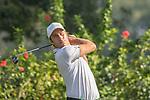 Nino Bertasio of Italy tees off the 7th hole during the 58th UBS Hong Kong Golf Open as part of the European Tour on 09 December 2016, at the Hong Kong Golf Club, Fanling, Hong Kong, China. Photo by Vivek Prakash / Power Sport Images