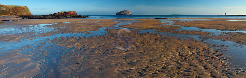 Bass Rock from Seacliff near North Berwick on the East Lothian Coastline, Scotland<br /> <br /> Copyright www.scottishhorizons.co.uk/Keith Fergus 2011 All Rights Reserved